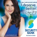 Megan Young Newest Endorser of Security Bank (Video)