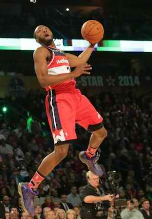 John Wall Big Winner as East Sweeps Slam Dunk Contest