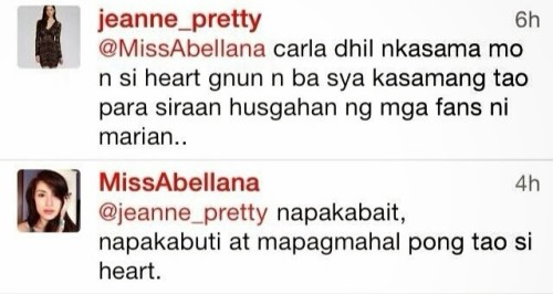Carla Abellana Defends Heart Evangelista Over Marian Rivera Issue