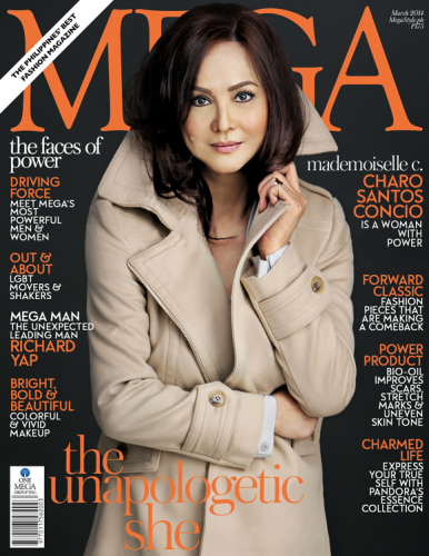 Charo Santos-Concio: Mega Magazine March 2014 Cover (Photo)