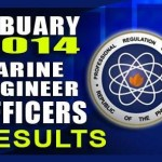 Marine Engineer Officer Board Exam Results List of Passers (February 2014)