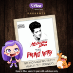 Friday Party With Bruno Mars: Viber Philippines 'Choose Your Vibe' Promo