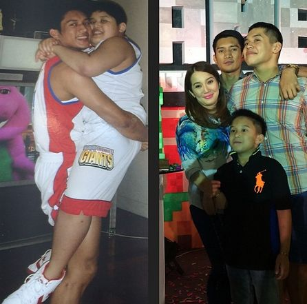 James Yap and Kris Aquino Reunite for Bimby's Birthday (Photos)