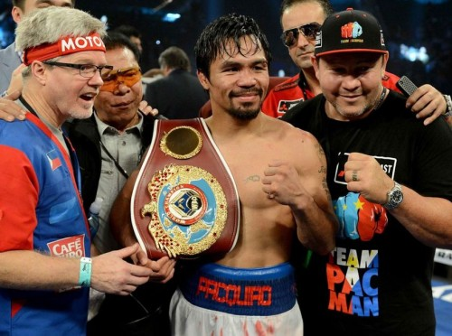 Manny Pacquiao Regained Pound For Pound Rankings After Defeating Bradley
