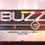 The Buzz to Return this Coming Sunday, May 18, 2014