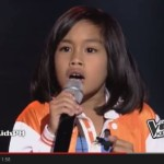 "Echo Claridad: The Voice Kids ""Too Much Heaven"" Performance Video"