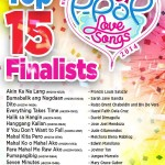 Himig Handog P-Pop Love Songs 2014: Top 15 Finalists