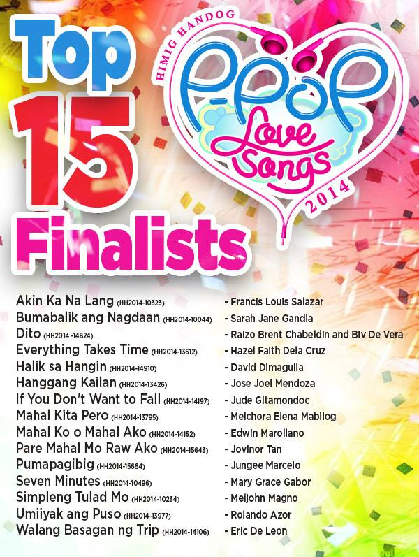 top hits music 2014 philippines