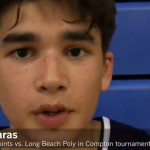 Kobe Paras Showcased His Basketball Skills in LA Cathedral