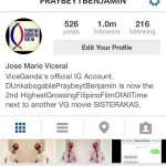 Vice Ganda Reached 1 Million Followers on Instagram