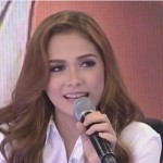 Maja Salvador Comments on Sarah Geronimo & Matteo Guidicelli (Video)