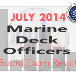 Marine Deck Officers Board Exam Results List of Passers (July 2014)