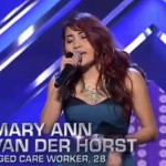 "Mary Ann Van der Horst Performance Video of ""Halo"" on The X Factor Australia Went Viral"