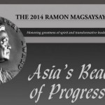 Ramon Magsaysay 2014 Official List of Awardees Released Online