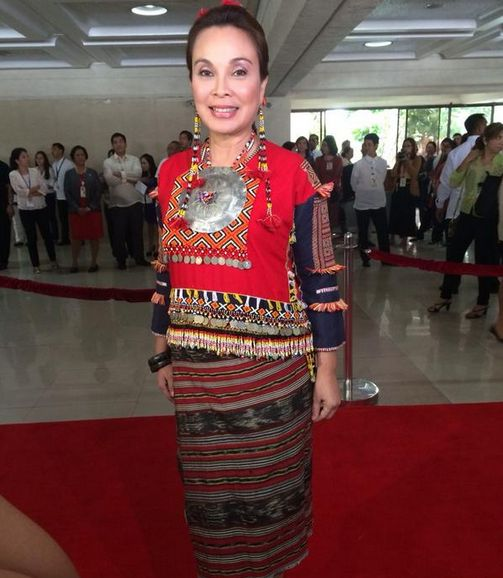 Sona 2014 Red Carpet Fashion Statement Photos Dress Attires Philippine News