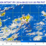 Low Pressure Area (LPA) Spotted East of Catanduanes (August 22, 2014)