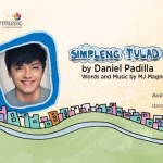 "Lyric Video of Daniel Padilla's New Single ""Simpleng Tulad Mo"" Released"