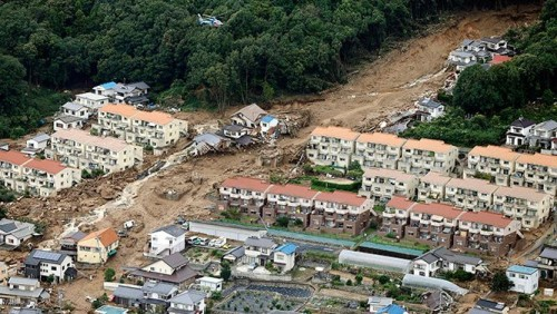 See How This Japanese City Devastated by Flooding. I've Never Seen Anything Like This in 2014!