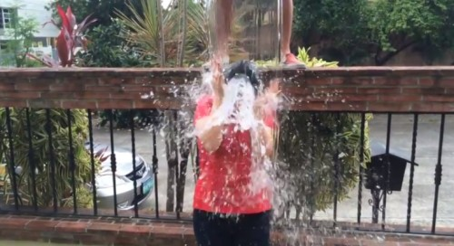 Lea Salonga Takes Ice Bucket Challenge (Video)