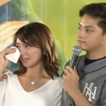 Kathryn Bernardo Cries As Daniel Padilla Gives Speech (Video)