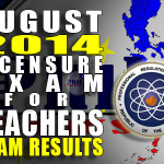 August 2014 LET Results Aphabetical (Secondary) Letter A (List of Passers)