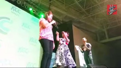 Lyca Gairanod Sings Wrecking Ball Duet with Mommy Dionisia (Video)