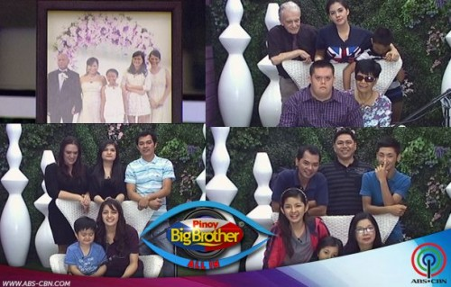 Remaining PBB Housemates Gets Surprise Visit from Families