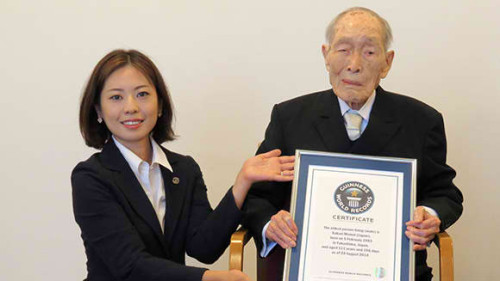Sakari Momoi: World's Oldest Man Alive at the Age of 116