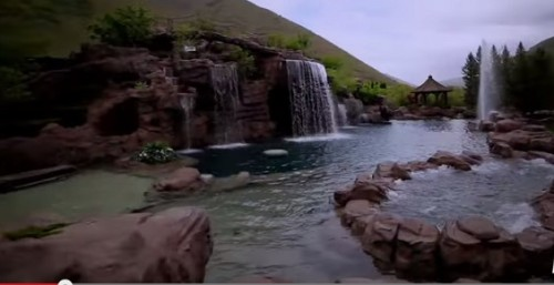 "Take A Deeper Look At ""The Mountain"" Swimming Pool- Viral Video"