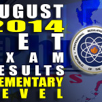 LET Exam Results Alphabetical List of Passers (Elementary Level) (Aug. 2014)