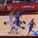 Gabe Norwood's Dunk Over Scola Tagged as Best Dunk in FIBA 2014 So Far (Video)