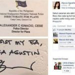 Viral: Model Alyzza Agustin Allegedly Helped by PNP Director to Evade Violation (Photos)