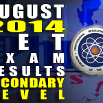 LET Exam Results (Secondary) Alphabetical List of Passers (August 2014) (Updated)