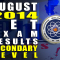 August 2014 LET Exam Results Secondary Level (Alphabetical List of Passers)
