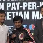 Manny Pacquiao Look-Alike Thailand Boxer Gets Limelight During Presser of Algieri Fight (Video)