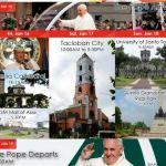 Pope Francis January 15-19, 2015 Philippine Visits Itinerary & Schedules