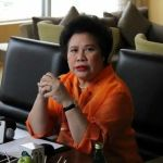 Sen. Miriam Defensor-Santigao to Run for President in the 2016 Elections
