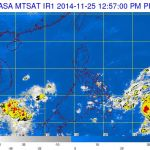 Potential Cyclone Spotted Off Mindanao Could Bring Rains Over Parts of the Country