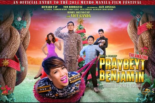 Mmff 2014 Box Office Results Quot Praybeyt Benjamin Quot Leads On