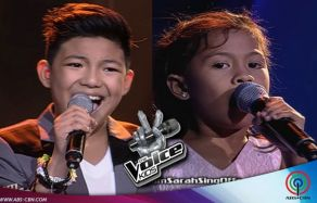 Lyca & Darren Records Memorable Performances on The Voice Kids (Video)
