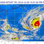 Bagyong Ruby Made Landfall in Dolores, Eastern Samar (Typhoon Signals)