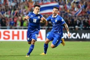 Azkals Defeated by Thailand in Leg 2 of the Suzuki Cup Semis (Video)