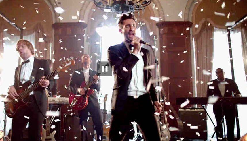 "Adam Levine & Maroon 5 Crashed Real Weddings For ""Sugar"