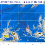 LPA (Bagyong Amang) Strengthened into a Tropical Depression (January 14)