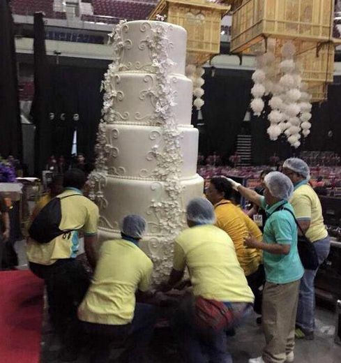 marian rivera and dingdong dantes wedding cake marian rivera s wedding cake made worldwide headlines 17126