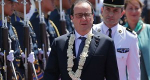 French President Francois Hollande Visits the Philippines for a Bilateral Meeting