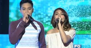 "Kathryn & Daniel (KathNiel) Sings ""Crazy Beautiful You"" Theme on It's Showtime"