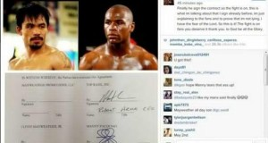 Manny Pacquiao & Floyd Mayweather Confirmed May 2 Bout on Social Media