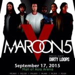 Maroon 5 to Hold a Concert on September 17 at MOA Arena