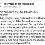 The Voice Ph Top 16 Live Shows How to Vote (Mechanics)